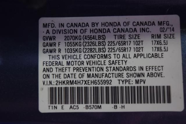 2014 Honda CR-V EX-L Richmond Hill, New York 21
