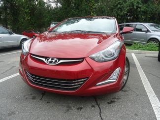 2014 Hyundai Elantra Limited. NAVI. LEATHER. SUNRF. CAMERA SEFFNER, Florida 8
