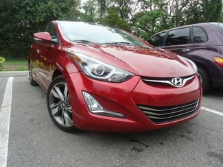 2014 Hyundai Elantra Limited. NAVI. LEATHER. SUNRF. CAMERA SEFFNER, Florida 9