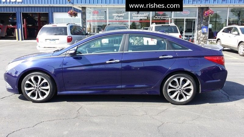 2014 Hyundai Sonata Limited Turbo   Rishe's Import Center in Ogdensburg New York