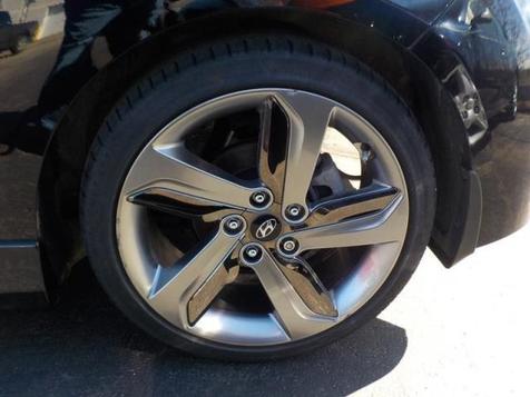 2014 Hyundai Veloster wNav Sunroof,  Turbo Black 5Spd | Ogdensburg, New York | Rishe's Auto Sales in Ogdensburg, New York
