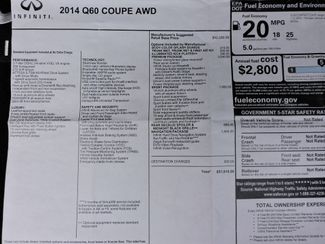 2014 Infiniti Q60 Coupe AWD Only 8K Miles! Bend, Oregon 25