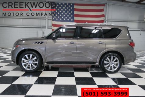 2014 Infiniti QX80 4x4 AWD Luxury Nav Roof Tv Dvd Chrome 22s 1Owner in Searcy, AR