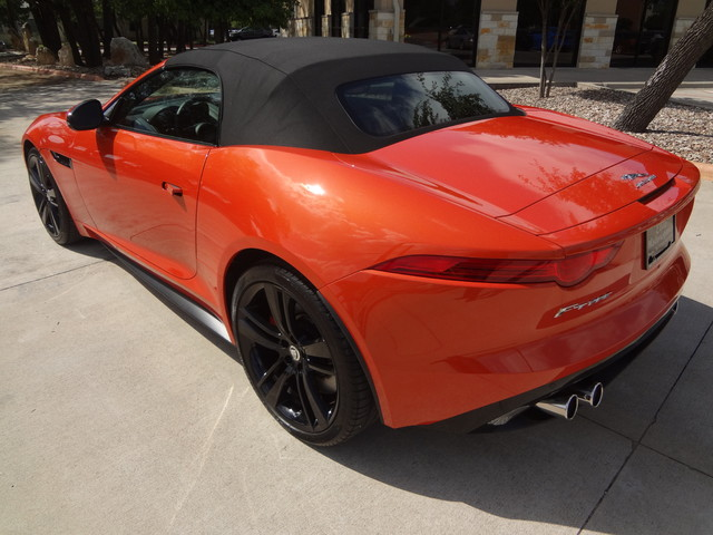 2014 Jaguar F-TYPE V8 S Austin , Texas 13