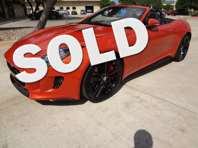 2014 Jaguar F-TYPE V8 S Austin , Texas 0