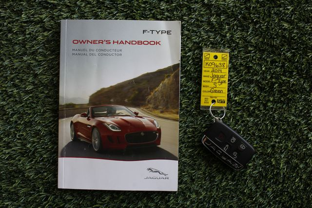2014 Jaguar F-TYPE V8 S RWD - VISION & PERFORMANCE PKGS! Mooresville , NC 18