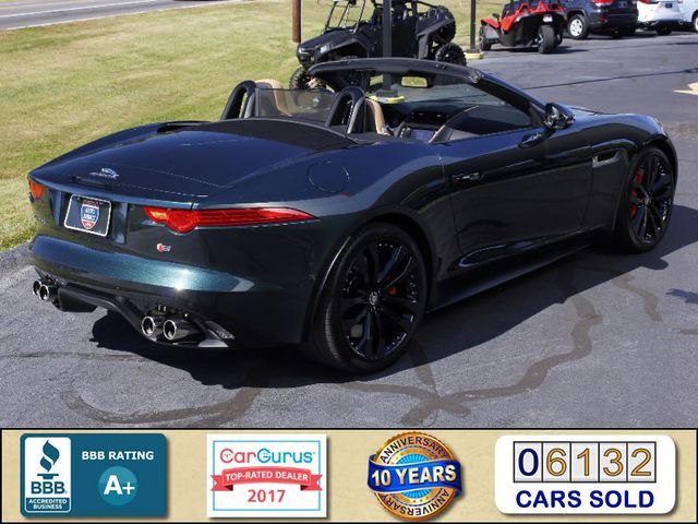 2014 Jaguar F-TYPE V8 S RWD - VISION & PERFORMANCE PKGS! Mooresville , NC 2