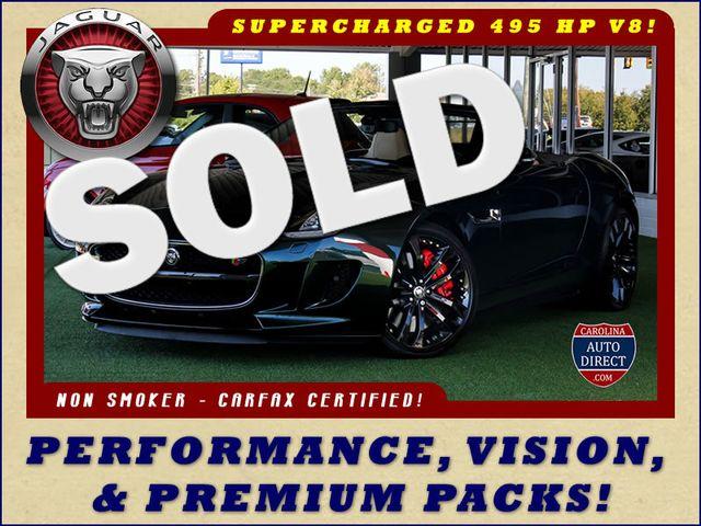 2014 Jaguar F-TYPE V8 S RWD - VISION & PERFORMANCE PKGS! Mooresville , NC 0
