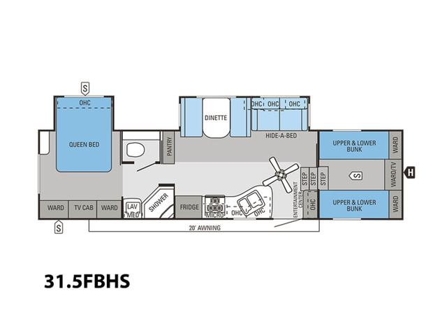 2014 Jayco Eagle 31.5FBHS Mooresville , NC 3