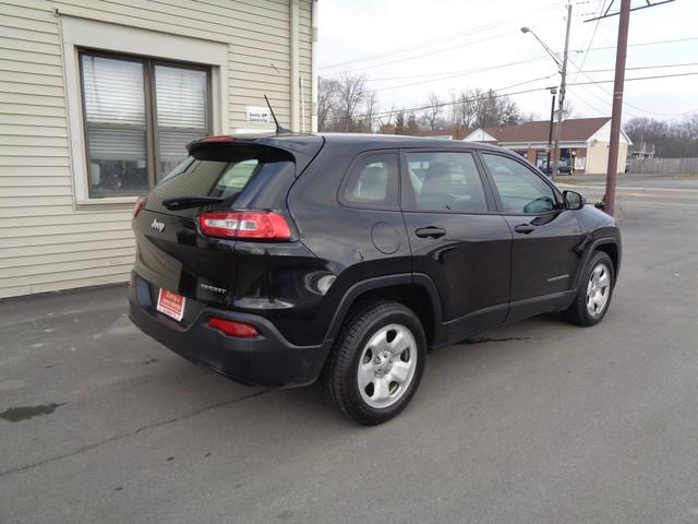 2014 Jeep Cherokee Sport  city NY  Barrys Auto Center  in Brockport, NY
