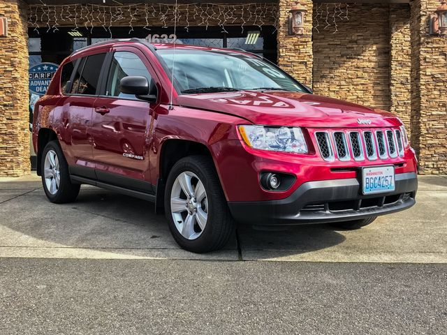 2014 Jeep Compass Sport Deep Cherry Red Crystal 2014 Jeep Compass Sport FWD 6-Speed Automatic 20L