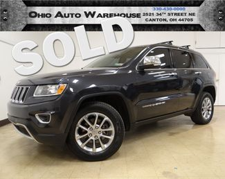 2014 Jeep Grand Cherokee Limited 4x4 Navi Sunroof 1-Own We Finance | Canton, Ohio | Ohio Auto Warehouse LLC in  Ohio