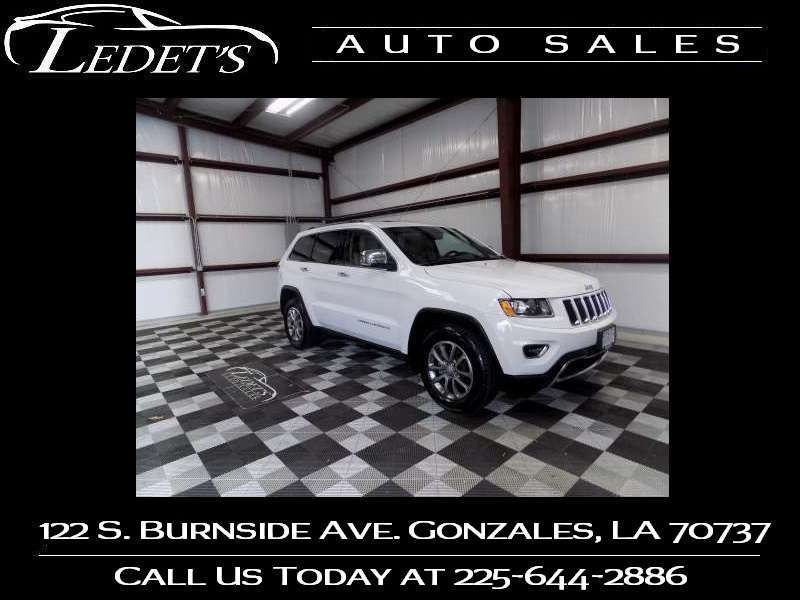 2014 Jeep Grand Cherokee Limited - Ledet's Auto Sales Gonzales_state_zip in Gonzales Louisiana