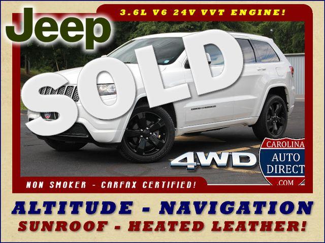 2014 Jeep Grand Cherokee Altitude 4WD - NAVIGATION - SUNROOF! Mooresville , NC 0