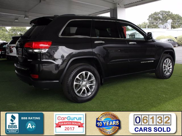2014 Jeep Grand Cherokee Limited LUXURY RWD - NAV - SUNROOFS - NEW TIRES! Mooresville , NC 2