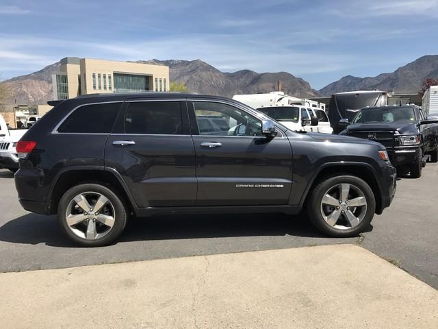 2014 Jeep Grand Cherokee Overland Ogden, Utah 4