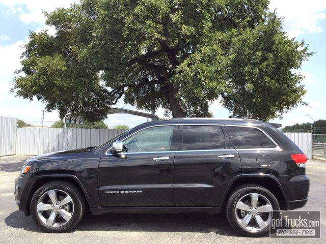 2014 Jeep Grand Cherokee Overland 3.0L V6 Turbo Diesel | American Auto Brokers San Antonio, TX in San Antonio Texas