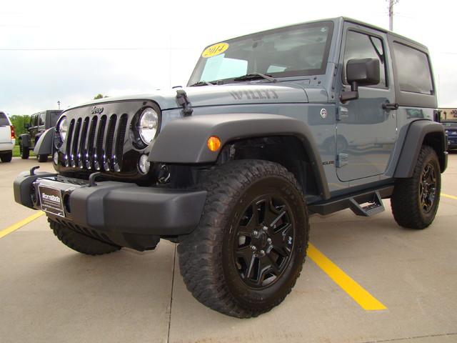 2014 Jeep Wrangler Willys Wheeler Ebay