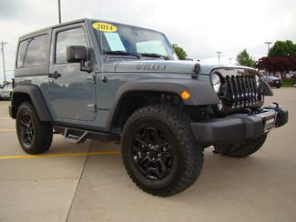 2014 Jeep Wrangler Willys Wheeler Bettendorf, Iowa 2