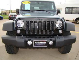 2014 Jeep Wrangler Willys Wheeler Bettendorf, Iowa 1