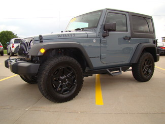 2014 Jeep Wrangler Willys Wheeler Bettendorf, Iowa 19