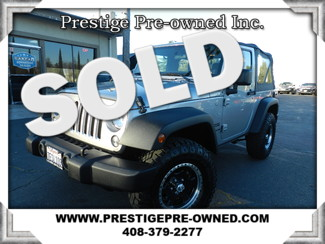 2014 Jeep Wrangler in Campbell California