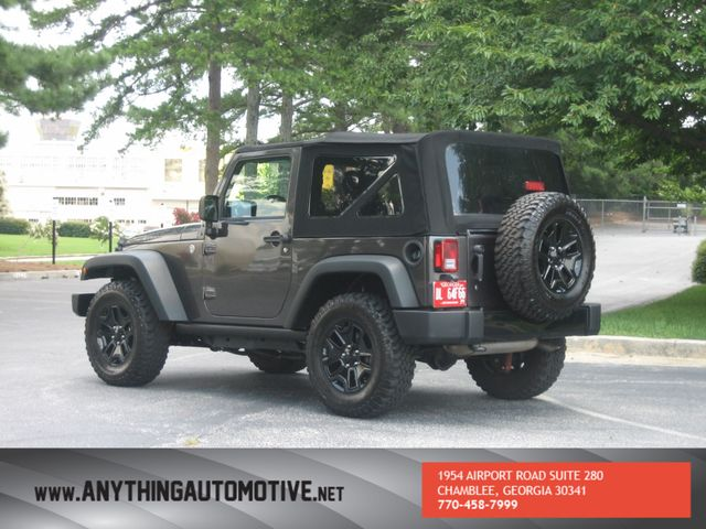 2014 Jeep Wrangler Willys Wheeler Chamblee, Georgia 2
