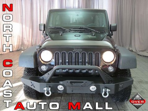 2014 Jeep Wrangler Unlimited Willys Wheeler in Akron, OH