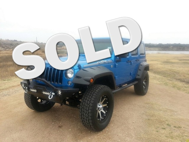 2014 Jeep Wrangler Unlimited Sahara Austin , Texas 0