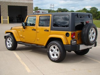 2014 Jeep Wrangler Unlimited Sahara Bettendorf, Iowa 31