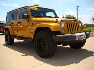 2014 Jeep Wrangler Unlimited Sahara Bettendorf, Iowa 2