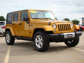2014 Jeep Wrangler Unlimited Sahara Bettendorf, Iowa 1