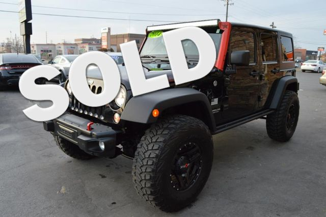 2014 Jeep Wrangler Unlimited Rubicon   Bountiful, UT   Antion Auto in Bountiful UT