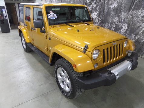 2014 Jeep Wrangler Unlimited Sahara in , ND
