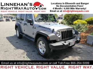2014 Jeep Wrangler Unlimited in Bangor, ME
