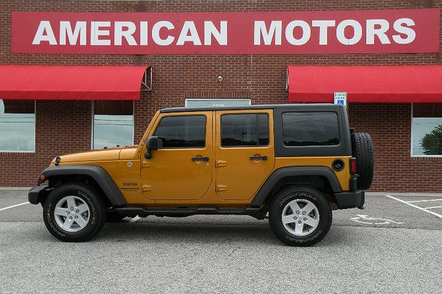 2014 Jeep Wrangler Unlimited Sport RHD | Jackson, TN | American Motors of Jackson in Jackson TN