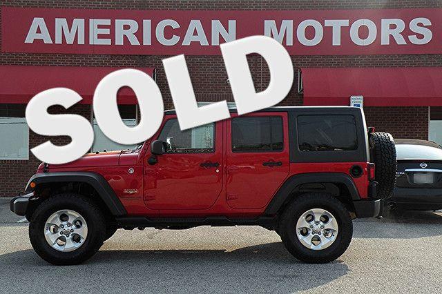 2014 Jeep Wrangler Unlimited Sahara   Jackson, TN   American Motors of Jackson in Jackson TN