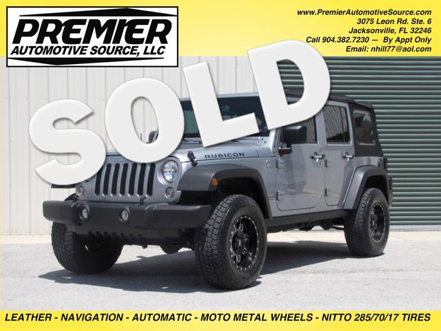 2014 Jeep Wrangler Unlimited Rubicon Jacksonville , FL 0