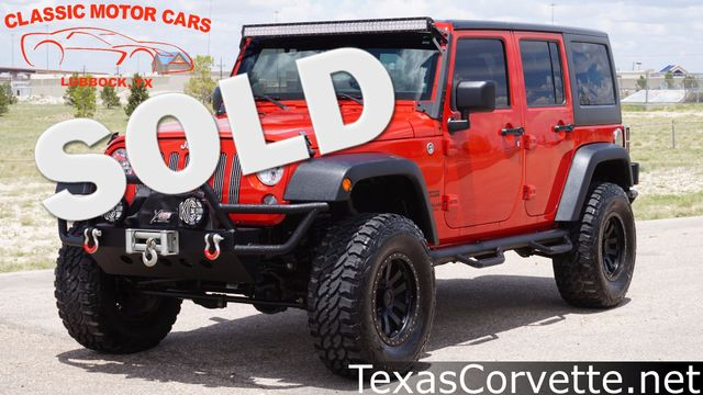 2014 Jeep Wrangler Unlimited Sport | Lubbock, Texas | Classic Motor Cars