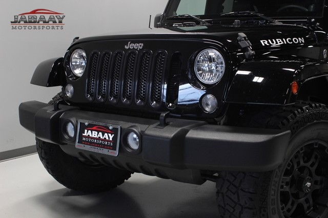 2014 Jeep Wrangler Unlimited Rubicon Merrillville, Indiana 28
