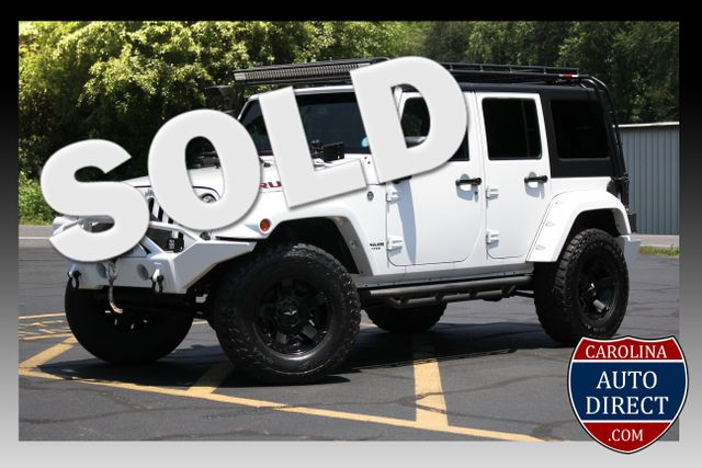 2014 Jeep Wrangler Unlimited Rubicon 4X4 - LIFTED - $12K UPGRADES! Mooresville , NC 0