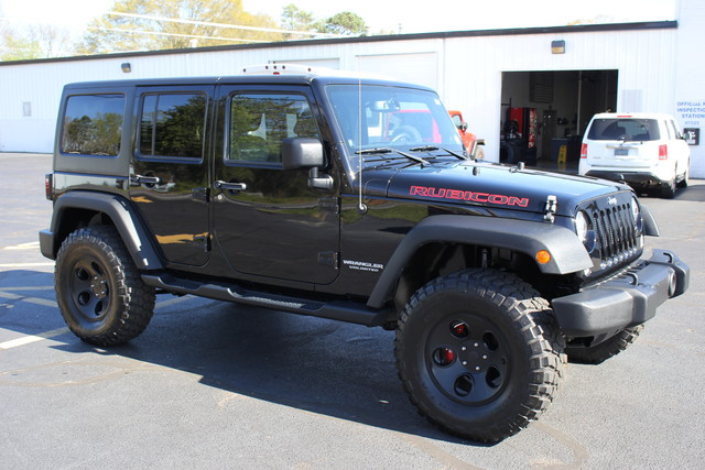 2014 Jeep Wrangler Unlimited Rubicon-LIFTED-LTHR-NAV Mooresville , NC 8