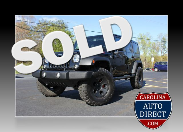 2014 Jeep Wrangler Unlimited Rubicon-LIFTED-LTHR-NAV Mooresville , NC 0