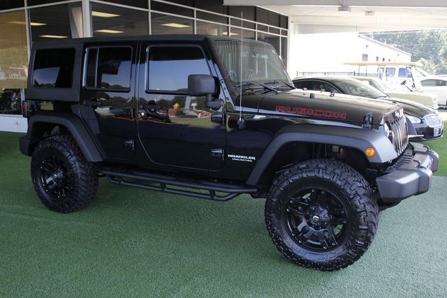 2014 Jeep Wrangler Unlimited Rubicon 4x4 - LIFTED - NAVIGATION! Mooresville , NC 22