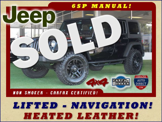 2014 Jeep Wrangler Unlimited Rubicon 4x4 - LIFTED - NAVIGATION! Mooresville , NC 0
