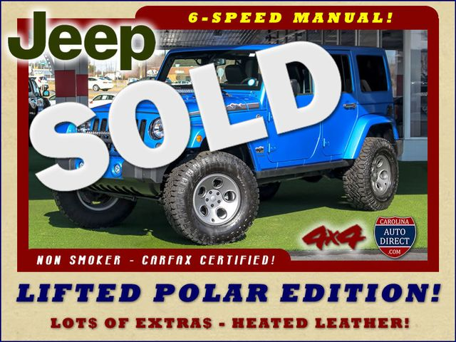 2014 Jeep Wrangler Unlimited Polar Edition 4x4 - LIFTED - LOTS OF EXTRA$! Mooresville , NC 0
