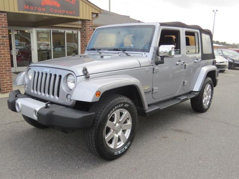 2014 Jeep Wrangler Unlimited Sahara | Mooresville, NC | Mooresville Motor Company in Mooresville NC