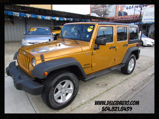 2014 Jeep Wrangler Unlimited Sport, LIKE NEW! READY 4 SUMMER FUN! New Orleans, Louisiana