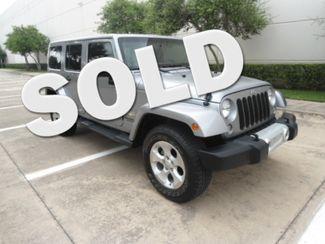 2014 Jeep Wrangler Unlimited Sahara 4x4 Hard Top Plano, Texas