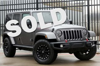 2014 Jeep Wrangler Unlimited Rubicon X * 1-OWNER * Hard Top * NAVI * XD Wheels Plano, Texas
